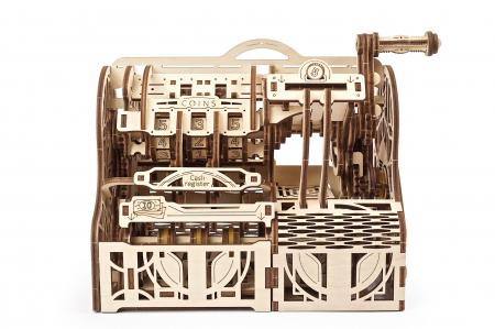 Puzzle 3D Mecanic, Casa de marcat, 405 piese [0]