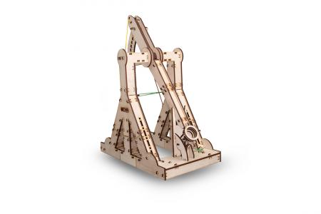 Puzzle 3D Mecanic, Catapulta Medievala [1]
