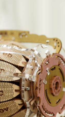 Puzzle 3D Mecanic , Ceas Calendar Masina Timpului, 250 piese1