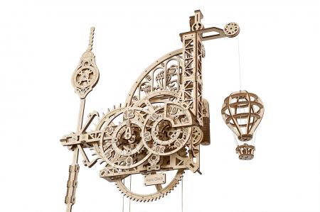 Puzzle 3D Mecanic, Ceas de perete cu pendul, 320 piese [1]