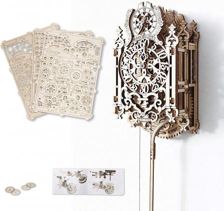 Puzzle 3D Mecanic, Ceas regal, 126 piese0