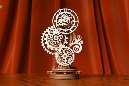 Puzzle 3D Mecanic, Ceas Steampunk, 43 piese [3]