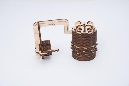 Puzzle 3D Mecanic, Codul lui da Vinci -  Cifru, 34 piese [2]