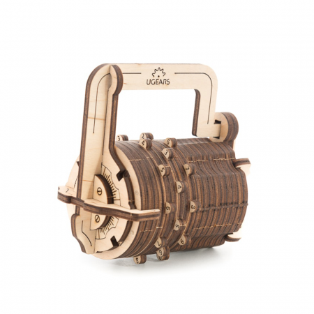 Puzzle 3D Mecanic, Codul lui da Vinci -  Cifru, 34 piese [0]