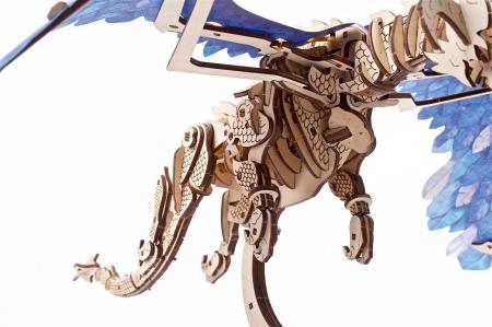 Puzzle 3D Mecanic, Dragonul Furtunii, 320 piese [2]