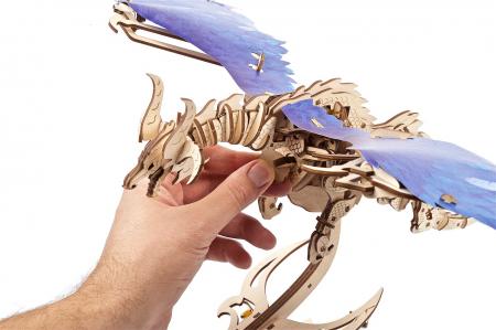 Puzzle 3D Mecanic, Dragonul Furtunii, 320 piese [3]