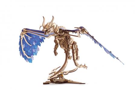 Puzzle 3D Mecanic, Dragonul Furtunii, 320 piese [0]