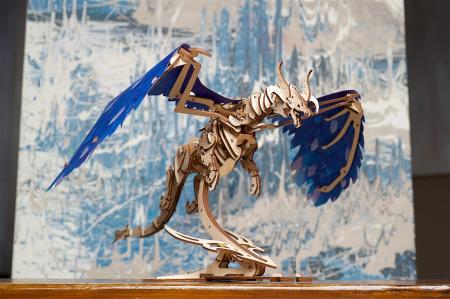 Puzzle 3D Mecanic, Dragonul Furtunii, 320 piese [4]