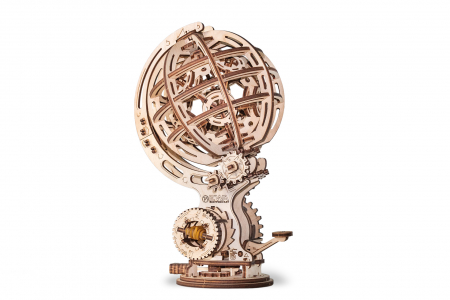 Puzzle 3D Mecanic, Glob kinetic, 205 piese0