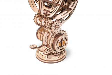 Puzzle 3D Mecanic, Glob kinetic, 205 piese2