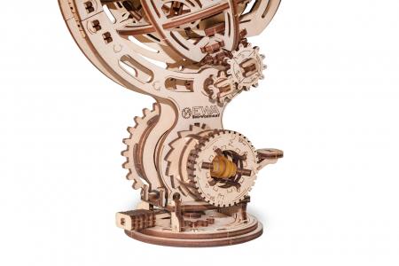 Puzzle 3D Mecanic, Glob kinetic, 205 piese3