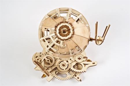 Puzzle 3D Mecanic, Glob Pamantesc, 184 piese [2]