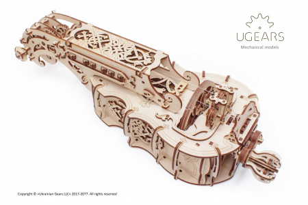 Puzzle 3D Mecanic, Hurdy-Gurdy, 292 piese [2]