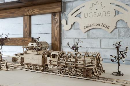 Puzzle 3D Mecanic, Locomotiva, 443 piese [3]