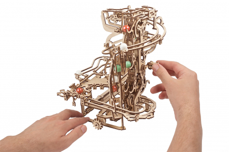 Puzzle 3D Mecanic, Marble Run Chain, 400 piese [8]