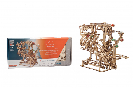 Puzzle 3D Mecanic, Marble Run Chain, 400 piese [16]