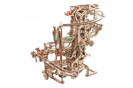 Puzzle 3D Mecanic, Marble Run Chain, 400 piese [5]