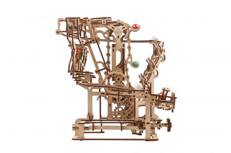 Puzzle 3D Mecanic, Marble Run Chain, 400 piese [9]
