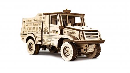 Puzzle 3D Mecanic, Masina off-road MAZ 6440RR [2]