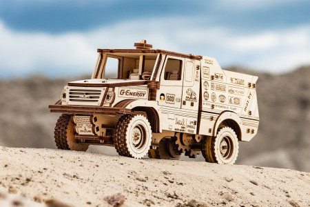 Puzzle 3D Mecanic, Masina off-road MAZ 6440RR [4]