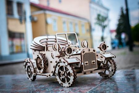 Puzzle 3D Mecanic, Masina Retro [6]