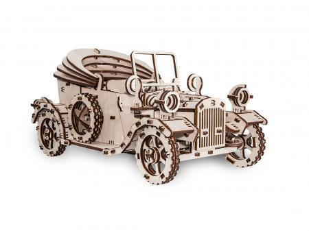 Puzzle 3D Mecanic, Masina Retro [3]