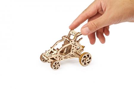 Puzzle 3D Mecanic, Mini Buggy 80 piese [3]