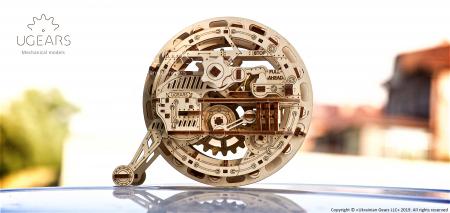 Puzzle 3D Mecanic, Monociclu [3]