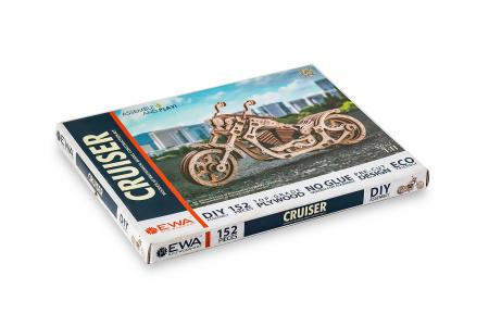 Puzzle 3D Mecanic, Motocicleta, 152 piese5