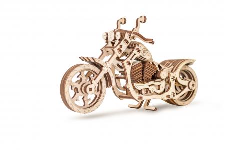 Puzzle 3D Mecanic, Motocicleta, 152 piese0