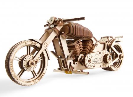 Puzzle 3D Mecanic, Motocicleta VM-02, 189 piese [0]