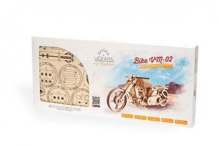 Puzzle 3D Mecanic, Motocicleta VM-02, 189 piese [5]