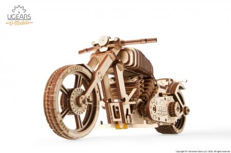 Puzzle 3D Mecanic, Motocicleta VM-02, 189 piese [4]