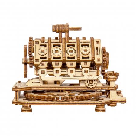 Puzzle 3D Mecanic, Motor V8 [2]