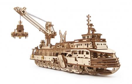 Puzzle 3D Mecanic, Nava de cercetare, 575 piese [11]