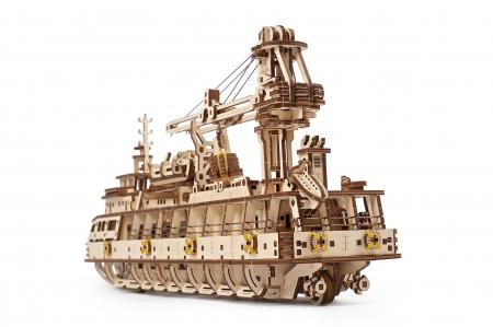 Puzzle 3D Mecanic, Nava de cercetare, 575 piese [4]