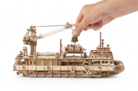 Puzzle 3D Mecanic, Nava de cercetare, 575 piese [13]