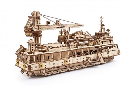 Puzzle 3D Mecanic, Nava de cercetare, 575 piese [6]