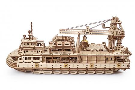 Puzzle 3D Mecanic, Nava de cercetare, 575 piese [3]
