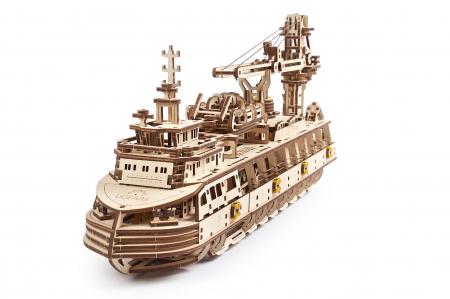 Puzzle 3D Mecanic, Nava de cercetare, 575 piese [2]