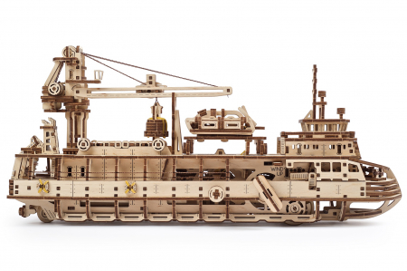 Puzzle 3D Mecanic, Nava de cercetare, 575 piese [1]