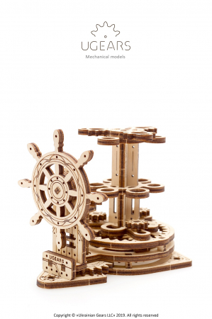 Puzzle 3D Mecanic, Organizator pentru birou, 51 piese [1]