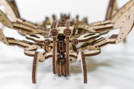 Puzzle 3D Mecanic, Paianjen, 293 piese5