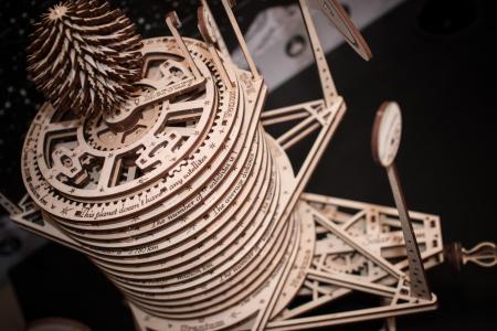 Puzzle 3D Mecanic, Planetarium [3]
