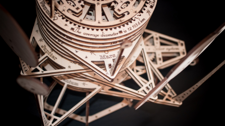 Puzzle 3D Mecanic, Planetarium [2]