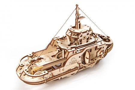 Puzzle 3D Mecanic, Remorcher, 169 piese [3]
