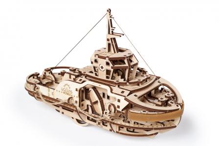 Puzzle 3D Mecanic, Remorcher, 169 piese [7]