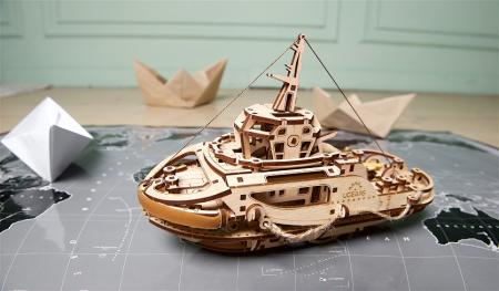 Puzzle 3D Mecanic, Remorcher, 169 piese [10]
