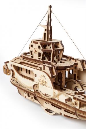 Puzzle 3D Mecanic, Remorcher, 169 piese [9]