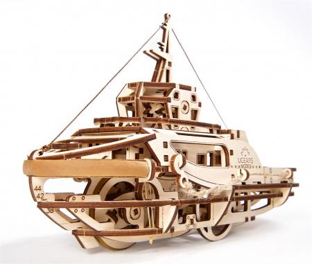 Puzzle 3D Mecanic, Remorcher, 169 piese [2]